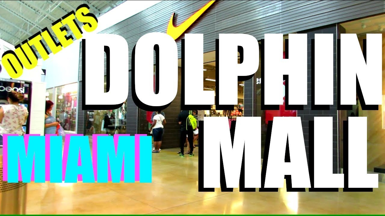 Dolphin Mall Tour Shopping Miami Youtube