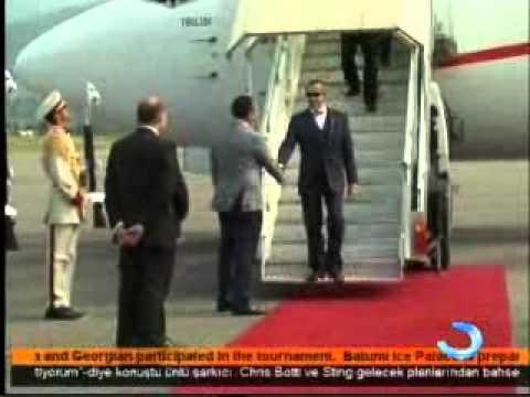 President of Estonia is in Batumi