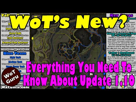 WoT's New?! Everything You Need To Know About Update 1.10