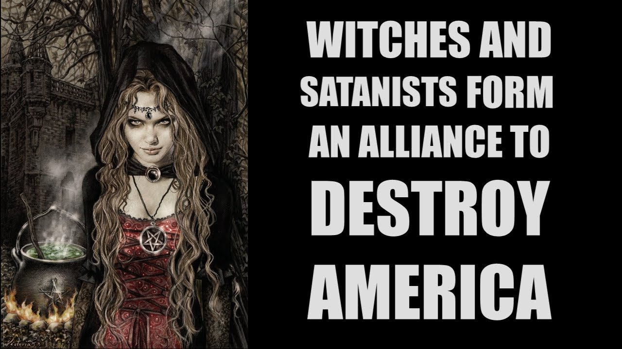 Crazy Christian Thinks Witches And Satanists Are DESTROYING America