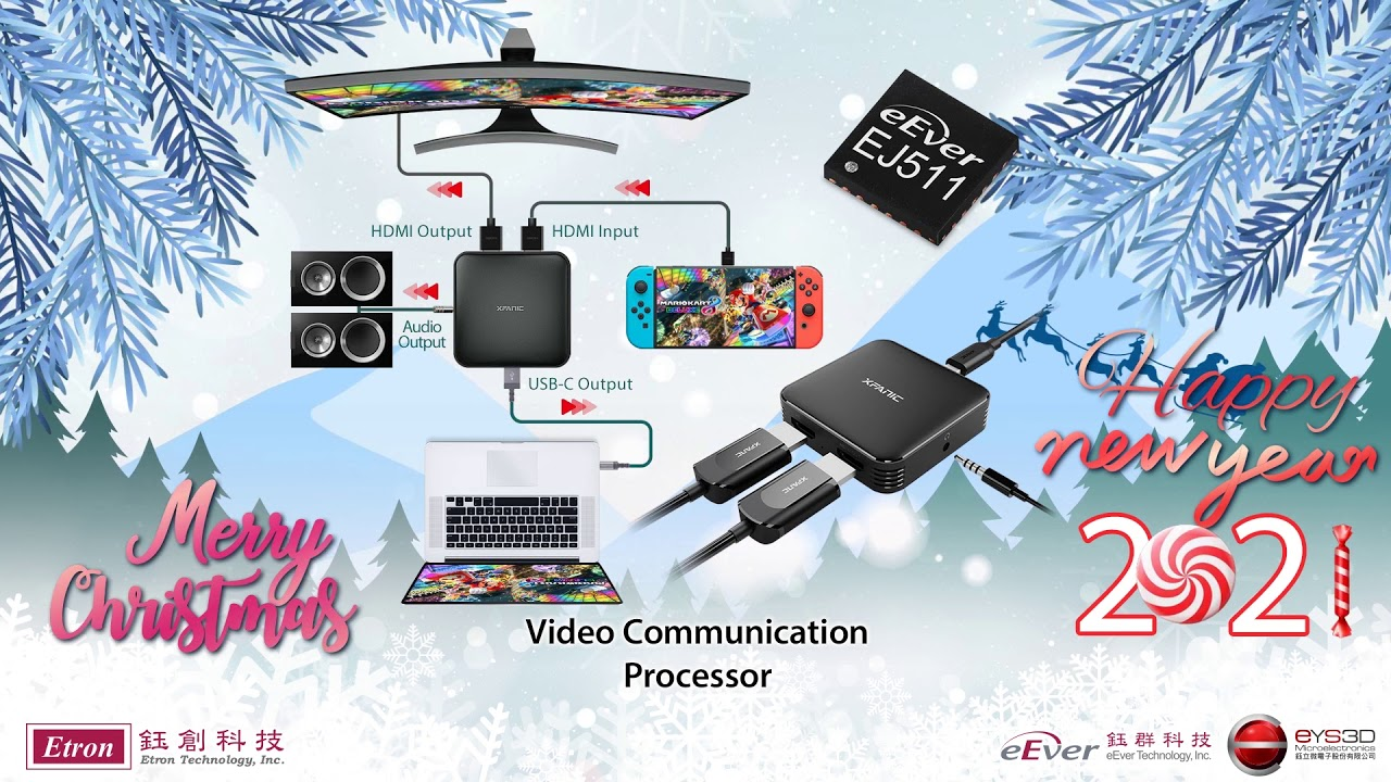 2021 Christmas Technology Merry Christmas And Happy New Year 2021 By Etron Tech Youtube