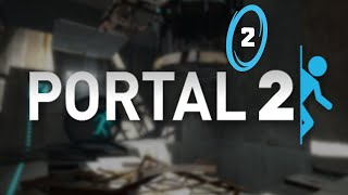 ITS GETTING HARD - Portal 2 - Episode 2 [Live Stream Replay]