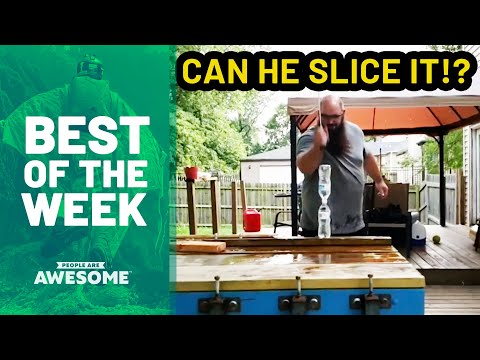 Best of the Week: Bladesports, Acro Tricks, Cardistry & More   People Are Awesome