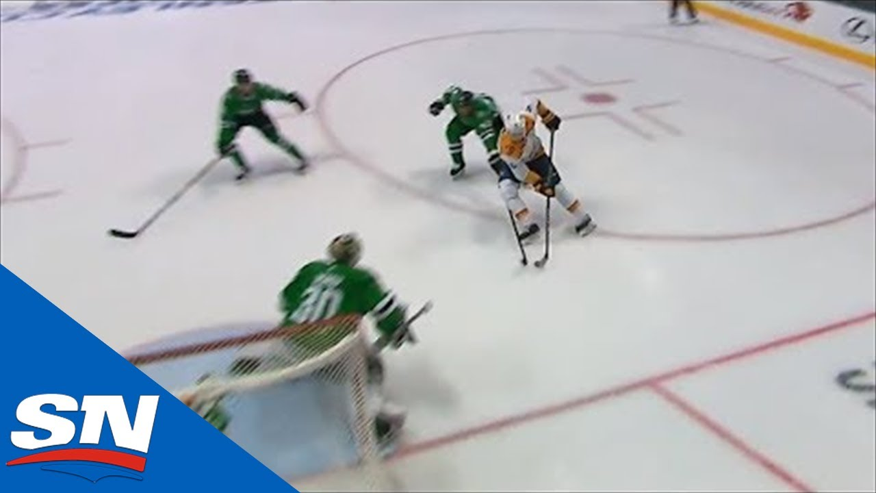 Filip Forsberg Stays Onside And Shows Quick Hands To Beat Ben Bishop