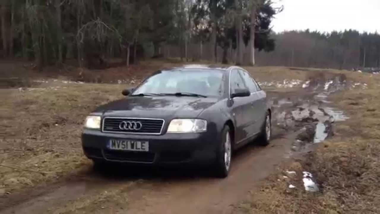audi a6 2 7 biturbo quattro testing on mud youtube. Black Bedroom Furniture Sets. Home Design Ideas
