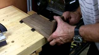 Diy Walnut Book Stand Made With All Hand Tools  Part 5 Of 6  Round Two Woodworks