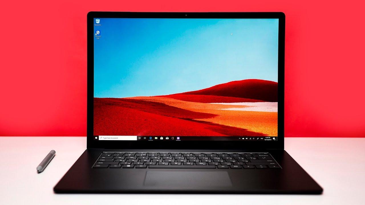 Обзор Microsoft Surface Laptop 3 с диагонально 15 дюймов