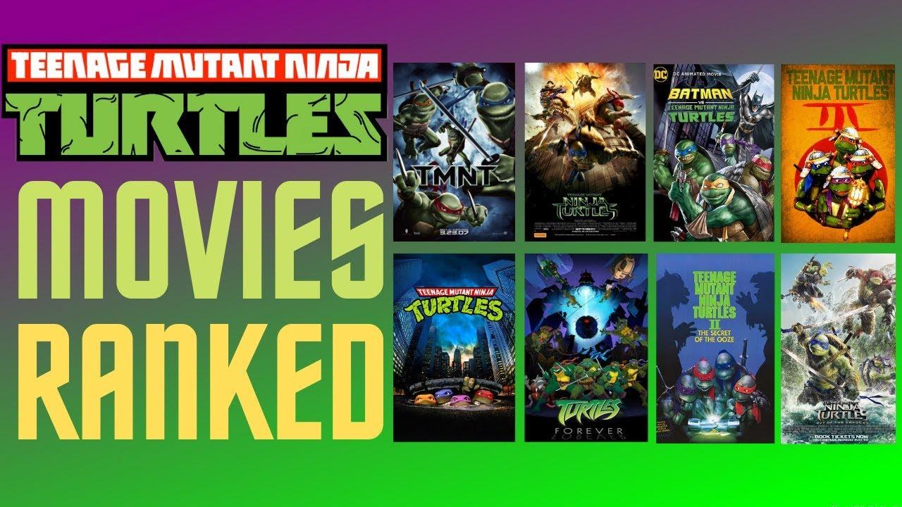 Download All 8 Teenage Mutant Ninja Turtles Movies Ranked From Worst to Best |TMNT