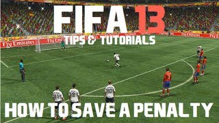 FIFA 13: How to Save a Penalty
