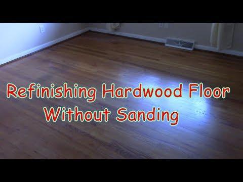 Refinishing Hardwood Floors Without Sanding  DIY For Under $60