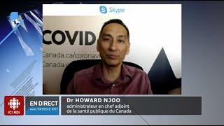 Mesures sanitaires au Canada : entrevue avec le Dr Howard Njoo
