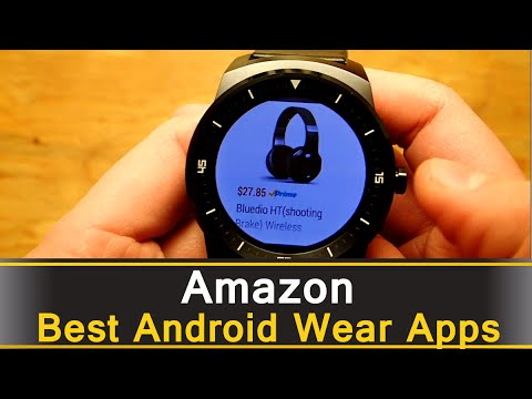 Amazon App - Best Android Wear Apps Series