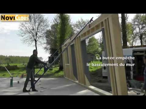 NOVICLOUS- LEVE MUR spécial Ossature bois
