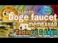 Claim Doge Faucet Membayar Tertinggi & Legit
