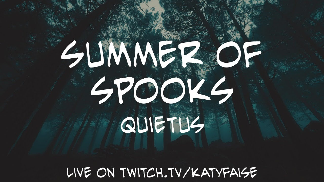 Quietus: a roleplaying game of melancholy horror by Oli