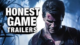 UNCHARTED 4 (Honest Game Trailers)(SUBSCRIBE ▻▻ http://smo.sh/SubscribeSmoshGames GAMER FIGHTS ▻▻ http://smo.sh/GF-E3Surprise HGT: UNCHARTED 1!, 2016-06-21T20:00:00.000Z)