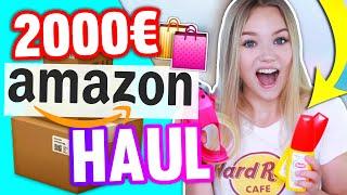 2000€ AMAZON HAUL!💸 Ich habe übertrieben! 😳 + VERLOSUNG!😍