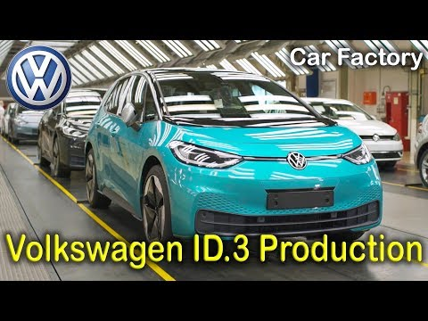 Volkswagen ID.3 Production, VW Factory Zwickau, Electric Car Assembly Line