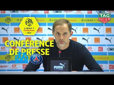 Conférence de presse Olympique de Marseille - Paris Saint-Germain ( 0-2 )  / 2018-19