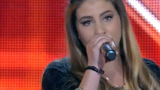 X FACTOR GREECE 2016 | FOUR CHAIR CHALLENGE  |   ΕΛΕΝΑ ΚΟΣΚΙΝΑ