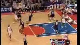 Cavs vs Pistons ECF NBA 2007 Game 5