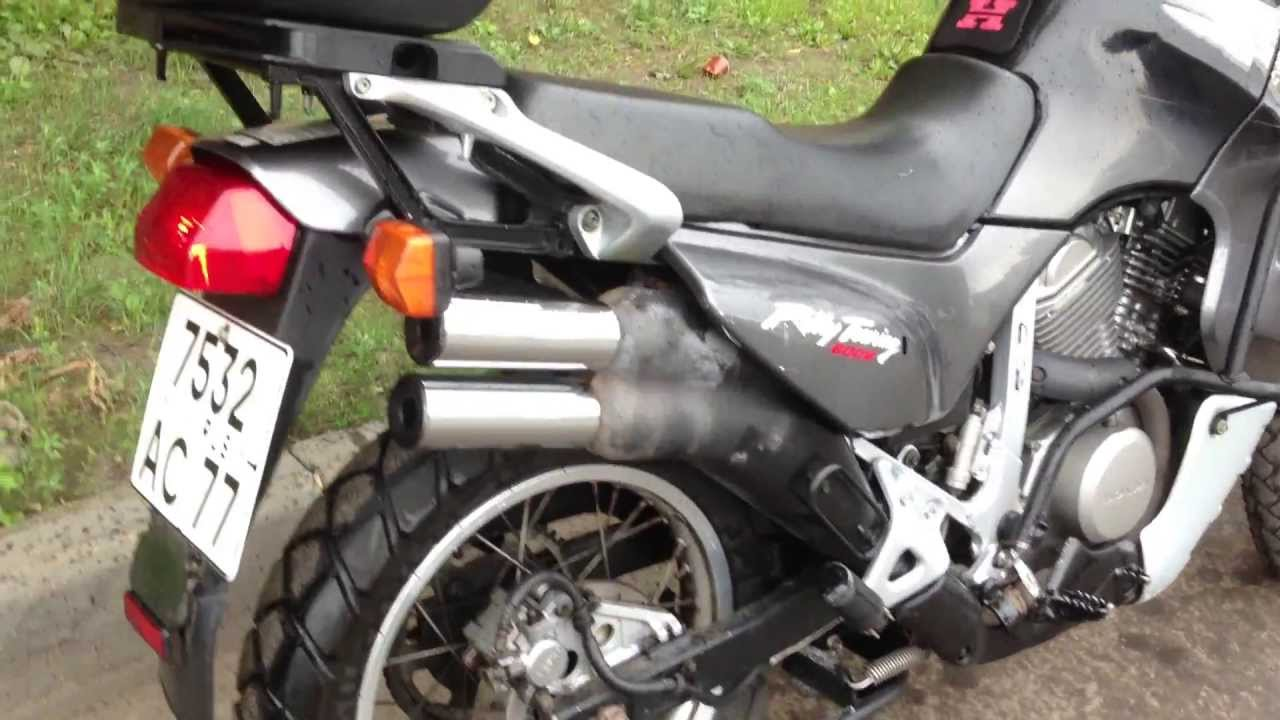 Honda Transalp Xl600v 1999 Youtube