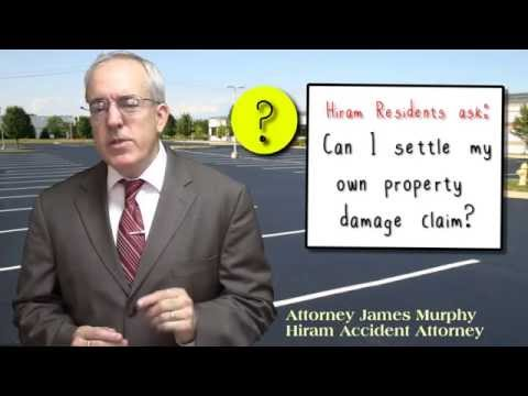 Can I Settle my Own Property Damage Claim - Hiram Car Accident Attorney GA