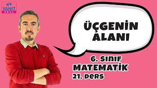 Üçgenin Alanı | 6. Sınıf Matematik Konu Anlatımları