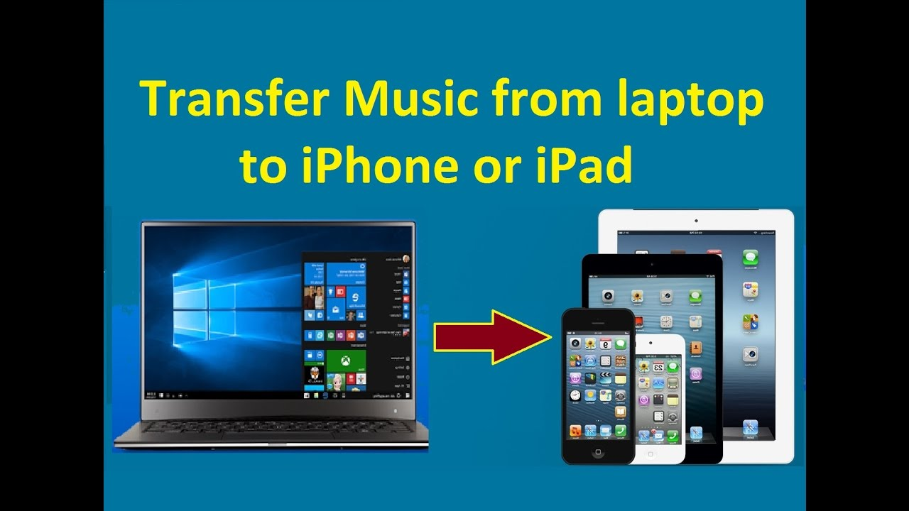 Transfer Music from laptop to iPhone or iPad! - Howtosolveit