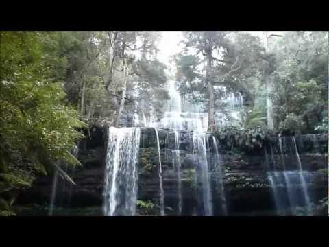 Russell Falls at Mount Field National Park. Tasmania. Australia. June 2012.wmv