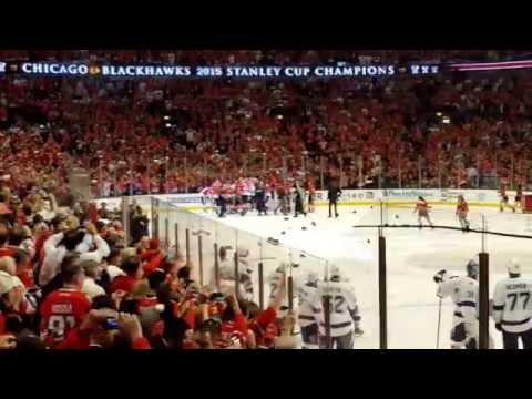 Blackhawks win 2015 Stanley Cup!