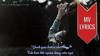 Walk Away | Dia Frampton | Lyrics [Kara + Vietsub HD]