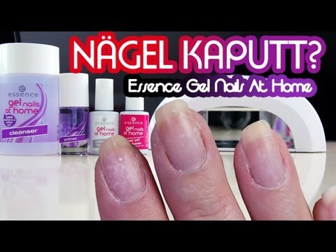 n gel kaputt essence gel nails at home collchen14 youtube. Black Bedroom Furniture Sets. Home Design Ideas