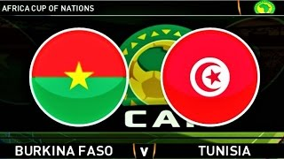 Burkina Faso vs Tunisia / Africa Cup Of Nations 2017 / Gameplay PES PC