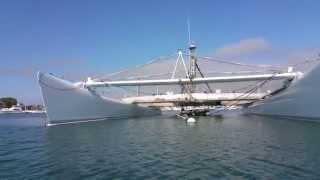 Google Virgin Maersk Catamaran Moored in Newport Beach CA