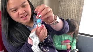 我們快點選一個扭蛋來玩吧 可愛公仔玩偶 disney  tsumtsum瓶蓋! 妹妹抽中小人偶小女生 姐姐抽到貝兒 美女與野獸 玩具開箱一起玩玩具Sunny Yummy Kids TOYs thumbnail