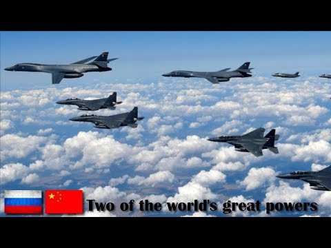 Great, Russian Bombers Aircraft and Chinese Patrol Together