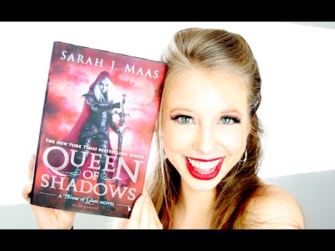 QUEEN OF SHADOWS BY SARAH J. MAAS | booktalk with XTINEMAY