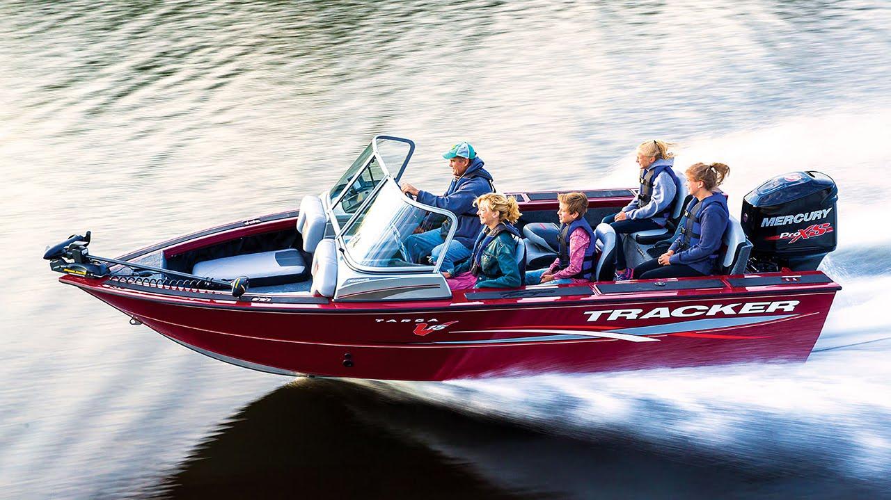Tracker boats 2016 deep v multi species fishing boats for Tracker fishing boats