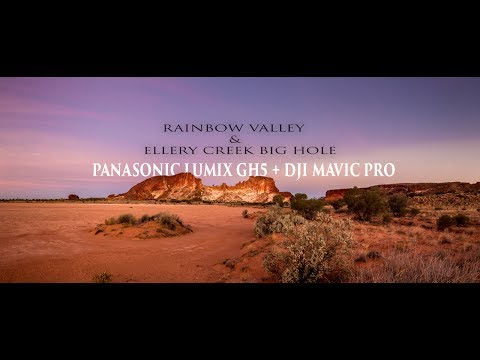 Panasonic Lumix GH5  & Mavic pro cinematic 4K video :  Central Australia