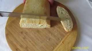 Видеоинструкция по допеканию полуфабриката итальянского хлеба «Чиабатта»
