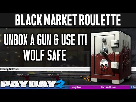 BLACK MARKET ROULETTE: Wolf Safe [PAYDAY 2]