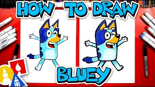 How To Draw Bluey  - #stayhome and draw #withme