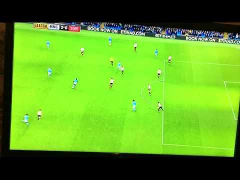 Yaya Toure goal vs Sunderland (2-0)