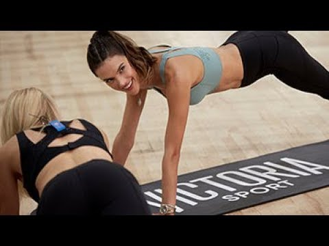 Victoria's Secret Train Like An Angel Live: Alessandra Ambrosio + Tracy Anderson - Full Workout
