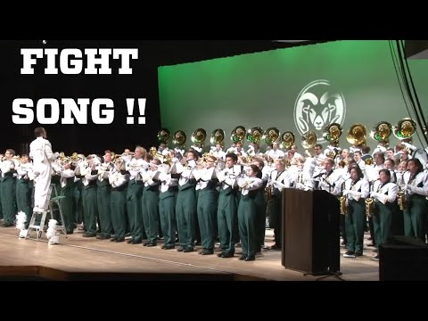 Colorado State University Marching Band: CSU Fight Song