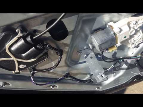 How to replace the door latch on a lincoln mkz zephyr and fusion