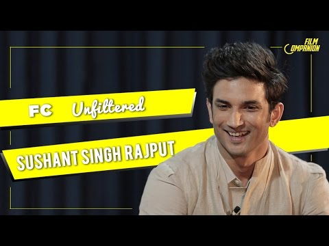 Sushant Singh Rajput with Anupama Chopra  FC Unfiltered