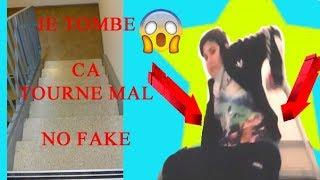 JE TOMBE... CA TOURNE MAL...  NO FAKE !!