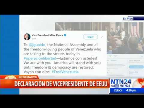 Declaración oficial del gobierno de Donald Trump sobre Operación Libertad en Venezuela